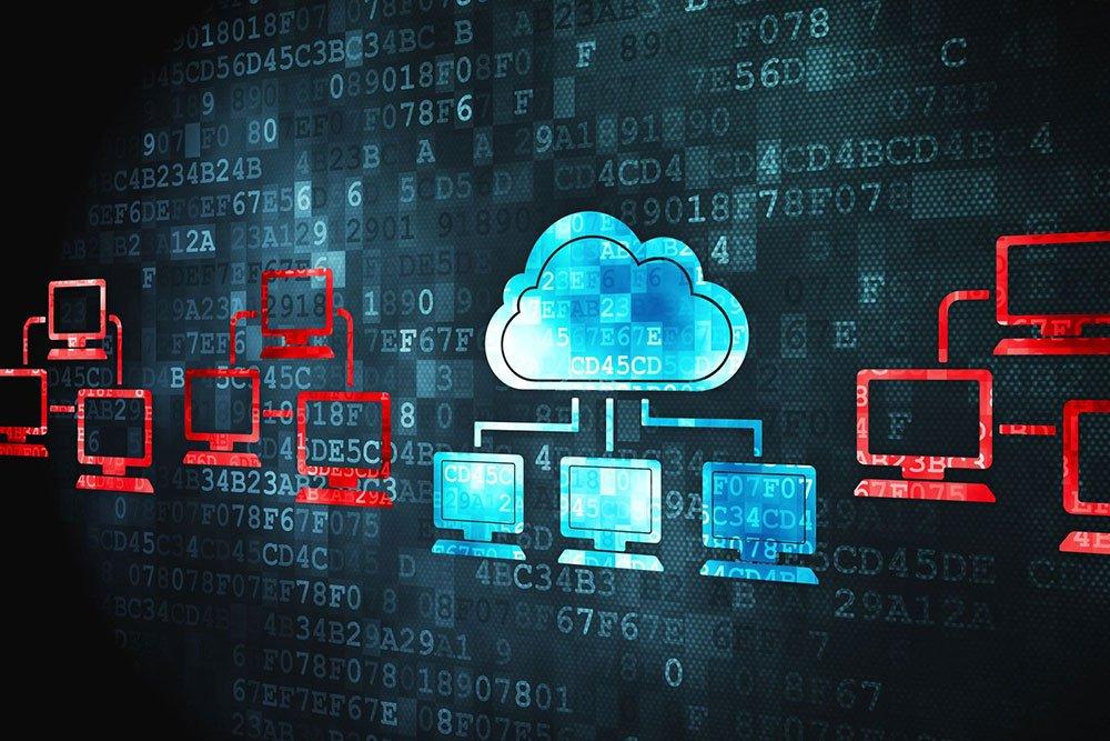 illustration of cloud environment