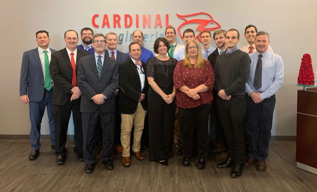 cardinal engineering team photo